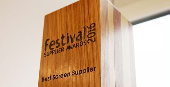 iMAG win Best Screen Supplier Award 2016