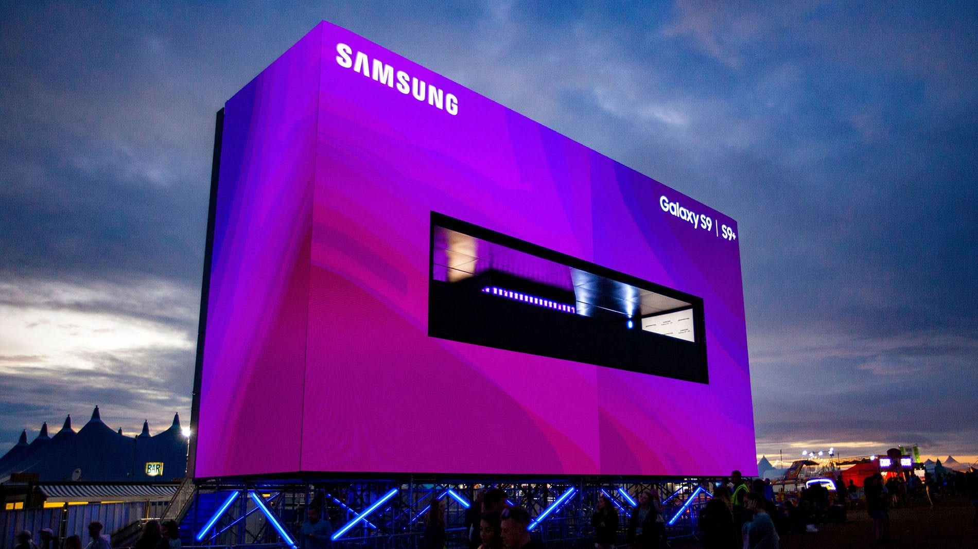 Samsung - Outdoor LED Display