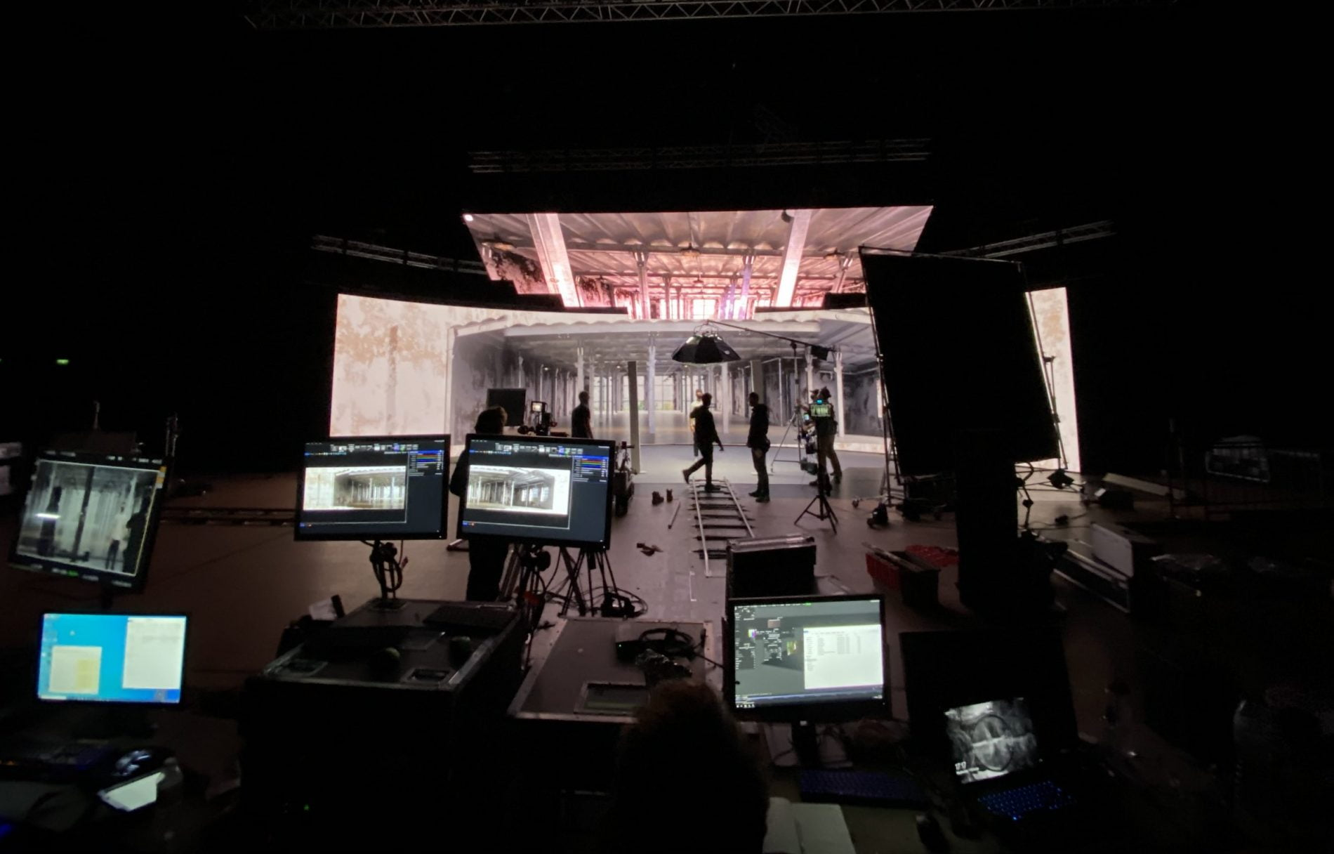 LED FOR VIRTUAL PRODUCTION